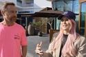 في دبي تواصل غيتا مع أليكس هيرشي، المعروفة بإسم سوبركار بلوندي