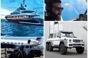 سيارات ويخوت وطائرات يمتلكها نجم مواقع التواصل الأمريكي