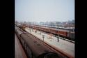 القطارات .. المنزل المؤقت للهنود
