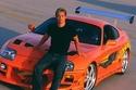 بول ووكر مع سيارة تويوتا سوبرا 1994