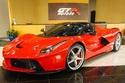 صور لافيراري أبيرتا حمراء للبيع في دبي بسعر فلكي 1