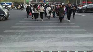 صور وفيديو: إشارة مرورية جديد في الصين لحماية
