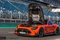 إمكانيات مذهلة لسيارة AMG GT بلاك سيريز