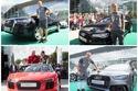 نجوم بايرن ميونخ يستلمون سياراتهم الجديدة من أودي