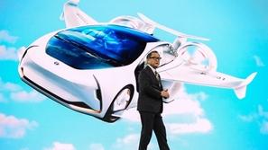 400 مليون دولار هدية من تويوتا للسيارات الطائرة