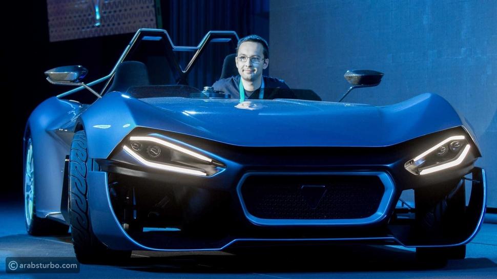 سيارة كينتيك الكهربائية صاحبة الطاقة الخضراء