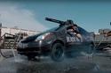 صور تويوتا بريوس: السيارة الأخطر بمدفع رشاش مخيف
