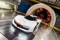 جلسة تصوير أكثر من رائعة لسيارة بينينفارينا H2 سبيد في نفق الهواء