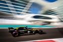 سيارة فريق رينو شريك إنفينيتي في الفورمولا واحد 2