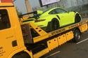 بورش 911 GT2 RS تتحطم على نوربورغرينع بعد 3 أيام من استلامها 2