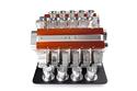 وأنتجت ماكينة لطحن وصنع القهوة تشبه كثيرا محرك سيارات فورمولا1