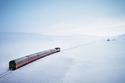 بالصور.. أول قطار سياحي يجوب القطب الشمالي