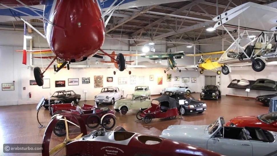 أغرب متاحف السيارات في العالم