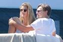 ليوناردو ديكابريو يستمتع بأجازته مع صديقته على يخته الخاص الفاخر