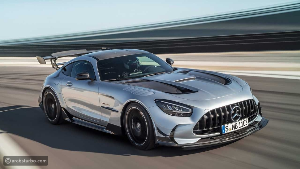 سعر مرسيدس AMG جي تي بلاك سيريز 2021 بالريال السعودي