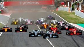 فورمولا 1: الترتيب النهائي لجولتين التجارب الحرة
