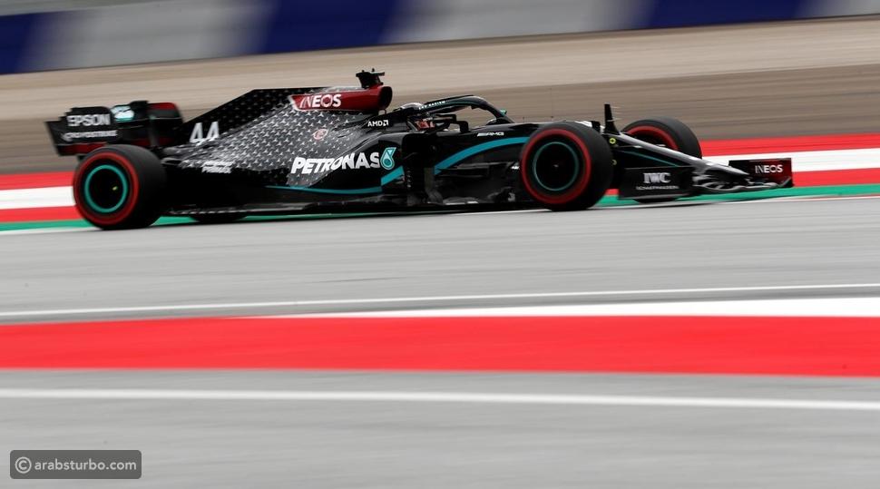 فورمولا1: هاميلتون يتصدر أولى تجارب سباق النمسا