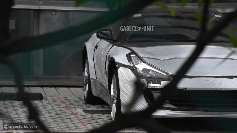فيراري تختبر طراز بوروسانجوي في جسد سيارة أخرى