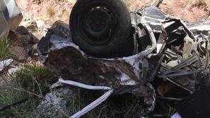 العثور على سيارة سقطت من ارتفاع 2500 متر!