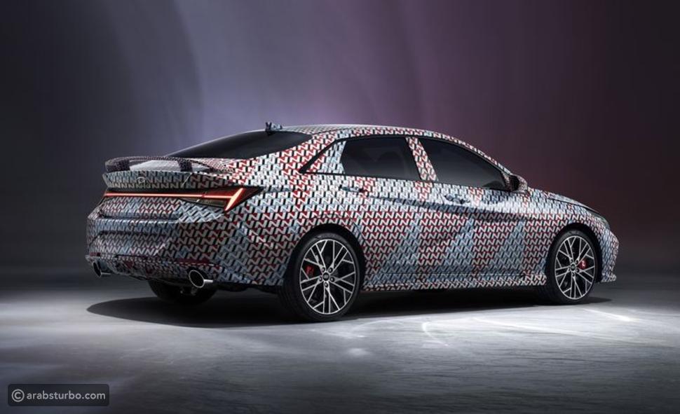 هيونداي تشوّق لسيارة إلنترا N الرياضية الجديدة