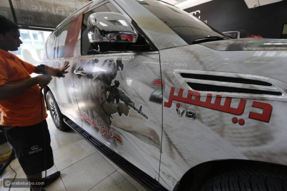 تباين أسعار مستلزمات زينة السيارات باليوم الوطني الإماراتي