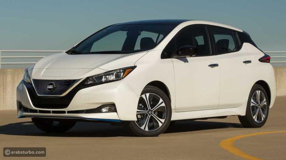 مواصفات سيارة  nissan leaf 2022