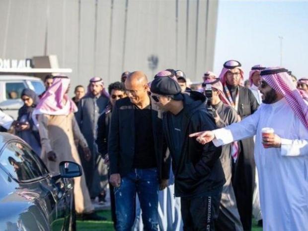 افتتح المعرض اليوم رئيس الهيئة العامة للترفيه تركي آل الشيخ