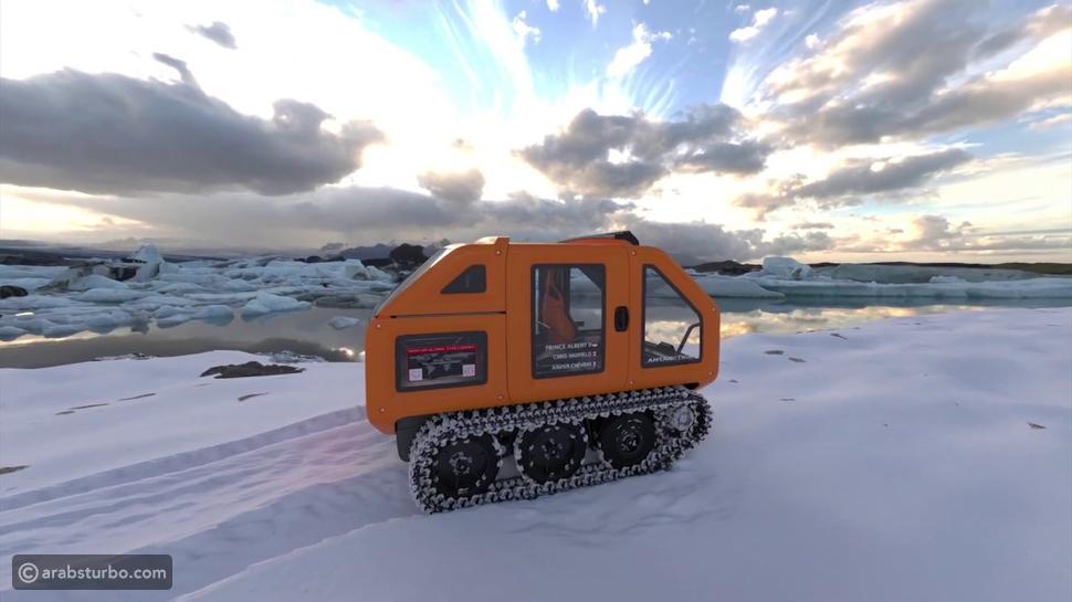 طرازات صنعت لمواجهة طرق القطب الجنوبي