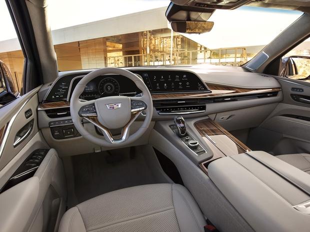2021 Cadillac-Escalade - Interior