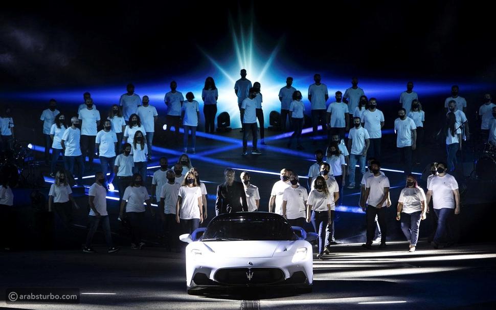 مازيراتي تحصد جائزة الحدث الأفضل في 2020