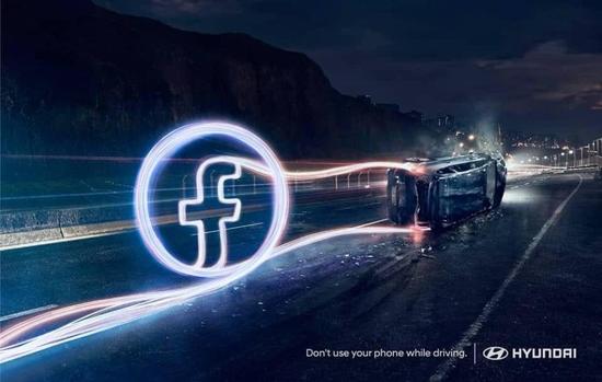 """صور: حملة ذكية من """"هيونداي"""" ضد استخدام الجوال أثناء القيادة"""