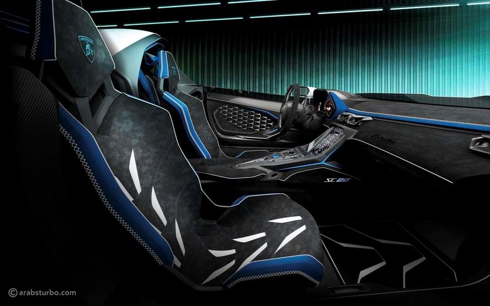 لمبرجيني SC20 سيارة رياضية خارقة مخصصة للطرقات
