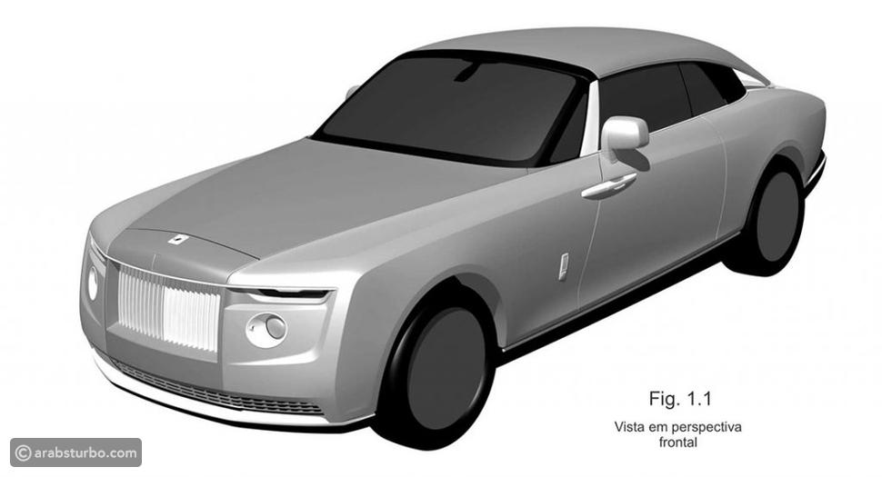 تسريب تصميمات رولز رويس تكشف عن سيارة جديدة