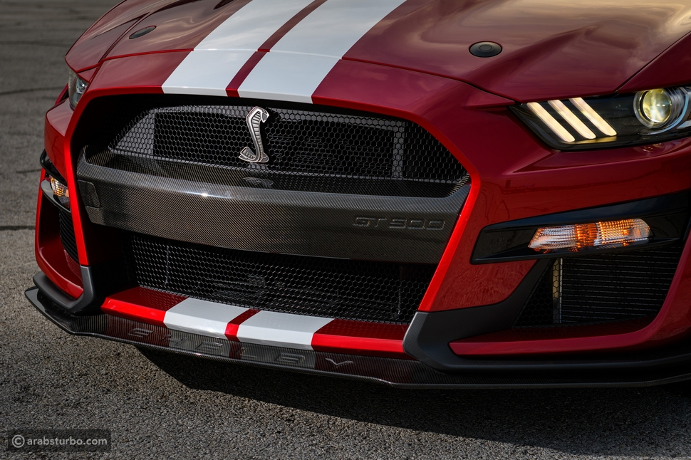 فورد تستخدم حيلة لتخفيف وزن موستنج شيلبي GT500