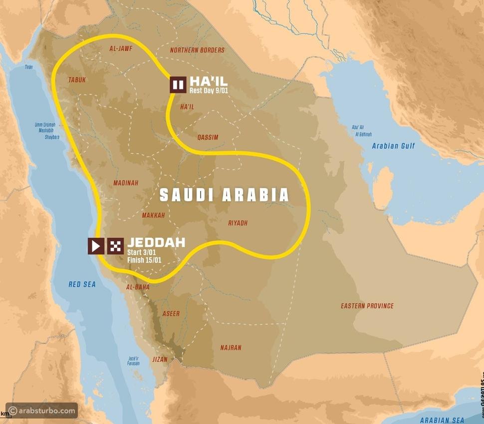 انطلاق الفعاليات المثيرة لرالي داكار السعودية 2021
