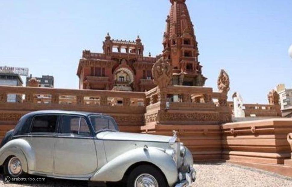 مصر تزين قصر البارون بسيارة مارك السادس التاريخية