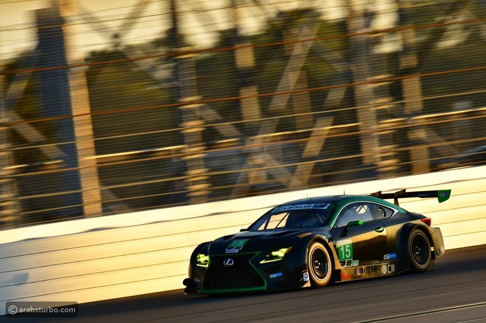 سيارات لكزسRC F  GT3 الرياضية تخضع للإختبار