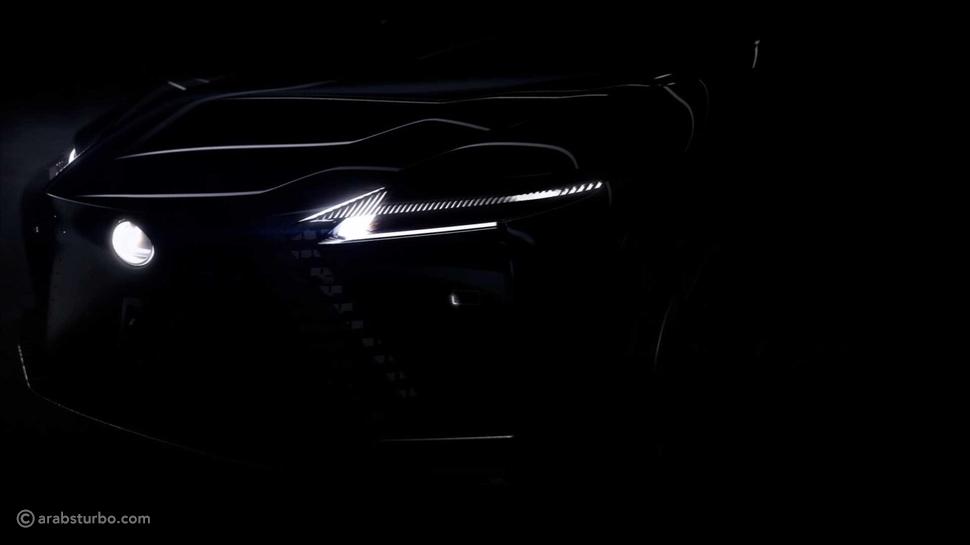 لكزس تشوق لسيارة اختبارية كهربائية مستقبلية