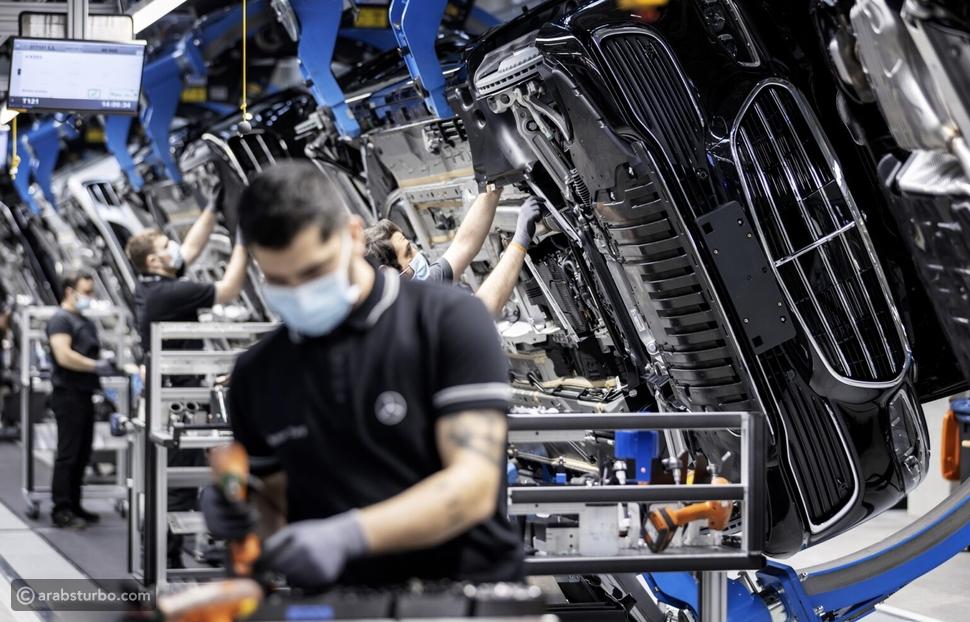 احتفال مرسيدس بـ50 مليون سيارة من إنتاجها
