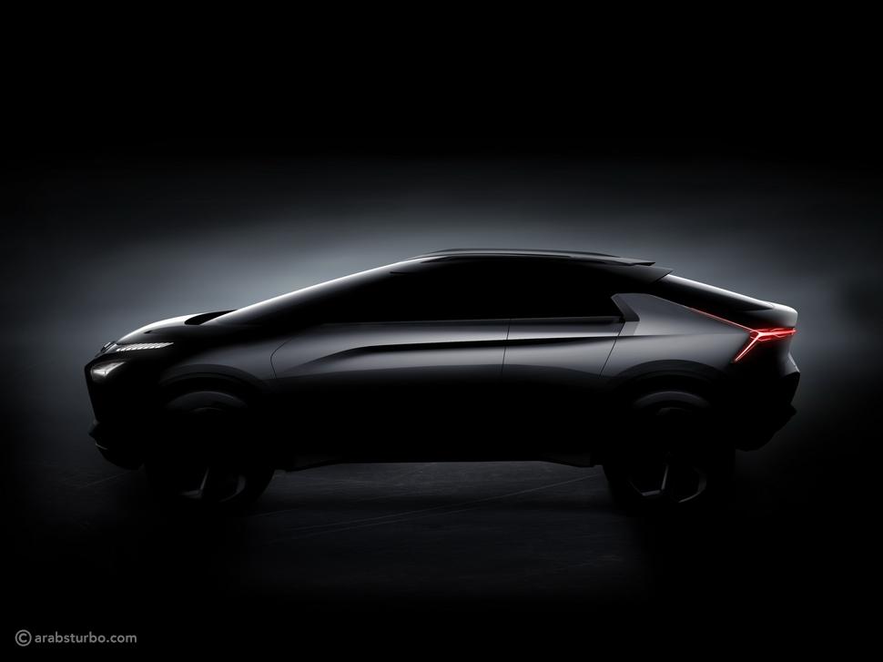ميتسوبيشي تنشر صور تشويقية جديدة لسيارة e-Evolution الاختبارية