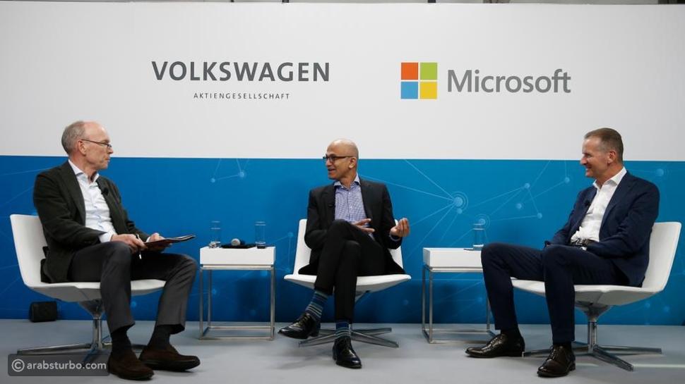 من أجل القيادة الذاتية: شركات عملاقة تتعاون مع مايكروسوفت