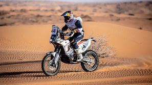 فئة الدراجات: محمد البلوشي يتفوق ويتصدر رالي حائل