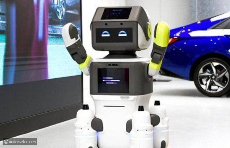 روبوتات هيونداي تنتشر في معارض السيارات