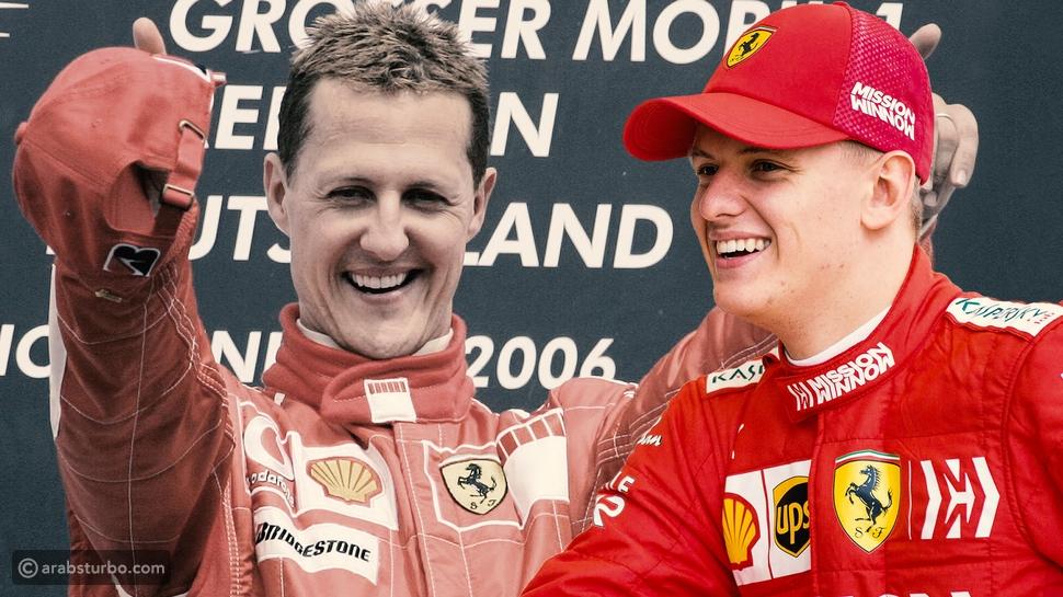 ابن الأسطورة شوماخر يظهر لأول مرة في فورمولا1 في 2021