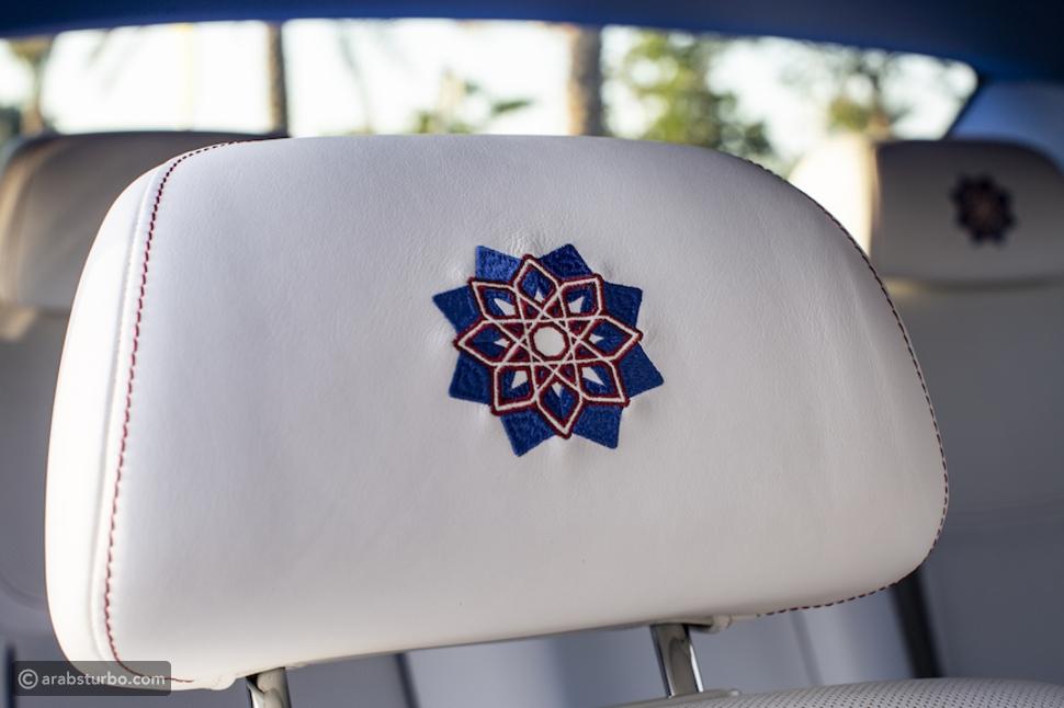 أبوظبي تكشف عن رولز رويس جوست بنسخة الفن الإسلامي