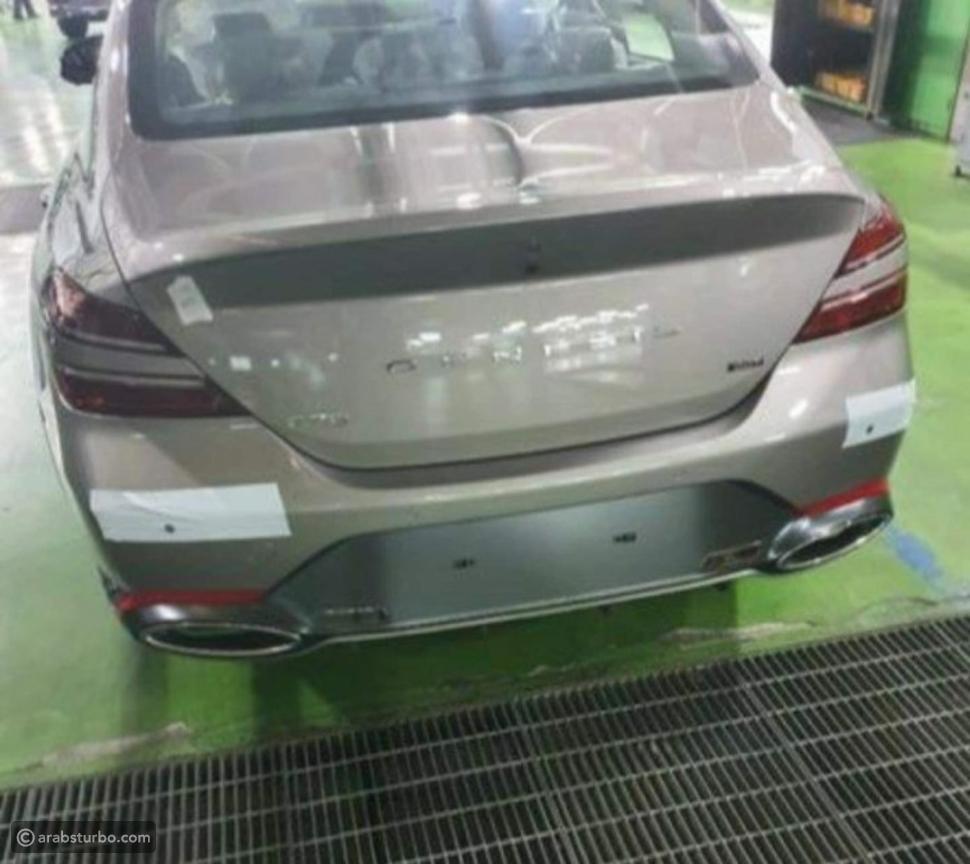 تسريب صور جينيسيس G70 فيس ليفت الجديدة
