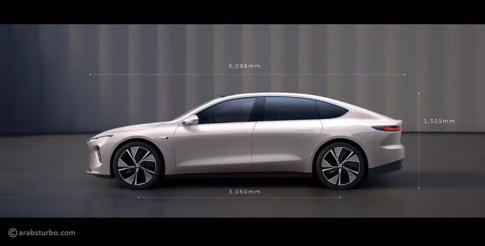 نيو الصينية تطلق أول سيارة كهربائية بقدرات مميزة