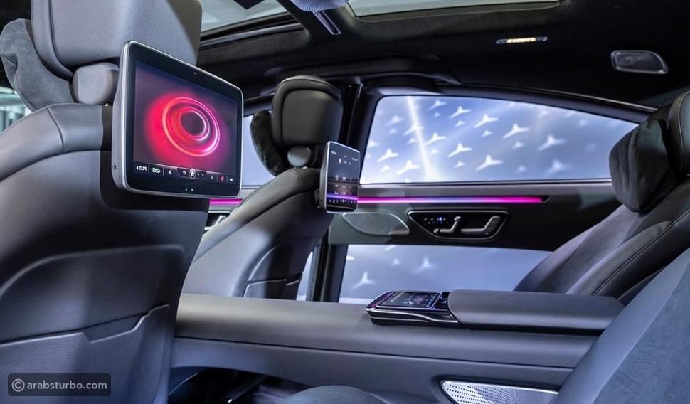 مرسيدس S-Class تكشف عن مقصورتها الداخلية الجديدة