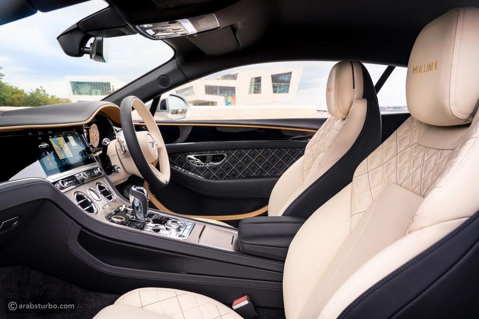 بنتلي كونتيننتال GT مولينر قمة الفخامة تنطلق رسميا