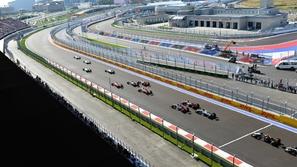 فورمولا 1: ترتيب الجولة الحرة الأولى لسباق روسيا